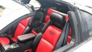 1990-1999 For Nissan 300zx/z32 Replacement Leather Seat Covers Black/red