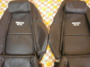 1990-1999 For Nissan 300zx / Z32 Leather Replacement Seat Covers W/300zx Logo