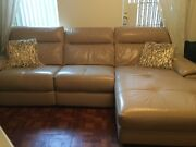 Used Leather Sectional Sofa With Recliner