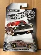 Hot Wheels Diecast - 50th Anniversary Zamac Flames -plymouth Duster Thruster 7/8
