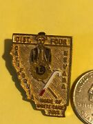 Lions Club Pin-md-4-1966 California Nevada White Cane Days District Four