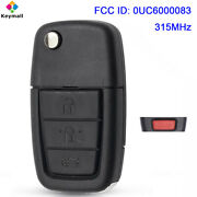 0uc6000083 For Pontiac G8 2008-2009 Remote Key Fob 3+panic Buttons 315mhz