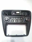 New2000 Honda Accord Lx A/c. Heat Climate Control Assembly W/clock And Bezel 300