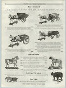 1919 Paper Ad Santa Claus Express Toy Wagon Coal Milk Wooden Toy Trains