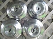 51 Ford Super Delux Coupe Sedan Pilot Roadster Pickup Truck Hubcaps Wheel Cover
