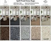 Lifeguard Soft And Cozy Spill / Stain Proof Area Rugs