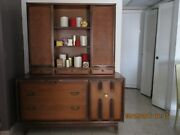 York County Chair Company Mid Century Modern Buffet Sideboard China Cabinet