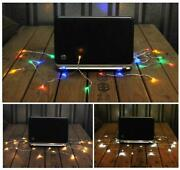 10-100 Usb Powered Led Fairy Lights Xmas Christmas Pc Laptop Mac With 2m Cable