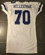 Dallas Cowboys Dale Hellestrae Russell Game Issued 1992 Jersey Sz 52 Long
