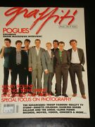 Graffiti Magazine 1988, The Pogues, Henry Rollins, Sugarcubes, Climie Fisher