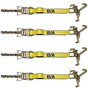 4 Ba Products 38-100-x4 Ratchet With Chain Tail And Strap W/ Cluster Tow Flatbed