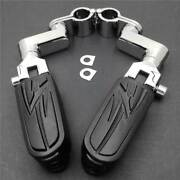 For Yamaha V-star Xvs 1300 650 950 1100 1 Front Rider Flame Foot Pegs Clamps