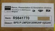 Barco R9841770 Replacement Lamp And Housing Bps P Lmp2x12wuhp Iqg200