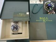 New Ball Engineer Master Ii Aviator 46mm Day Date 66 Gas Tubes Nm1080c-s14a-bk