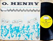 O. Henry Three Short Stories Read By Robert Donley 33rpm 12andrdquo Record Audio Arts