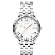 Watch Tradition Date Automatic 112610 Gents Steel Swiss Made Roman