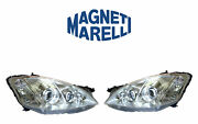 New Mercedes Set Of Left And Right Xenon Headlights Marelli Lus5442 Lus5441