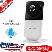 Zmodo Sight 180 C Home Security Ip Camera 180anddeg Wide Angle 1080p Full Hd Wireless