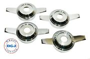 Zenith Cut Chrome Knock-off Spinners For Lowrider Wire Wheels M