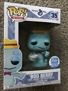 Funko Pop Ad Icons 35 - Cereal Monsters - Boo Berry - Funko Shop Exclusive
