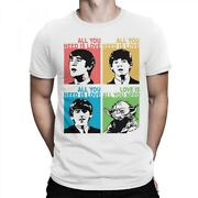 Love Is All You Need Funny T-shirt, The Beatles X Star Wars Tee, All Sizes