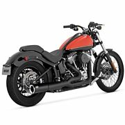 Exhaust Vance And Hines Pro Pipe Black Harley Davidson Softail 2012–2017