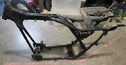 1992 Harley Davidson Flhtc Electra Glide Classic Frame Chassis Straight