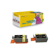 Compatible 1 X Bci-15b + 1x Bci-16c Ink Cartridge For Canon I70 Selphy Ds700