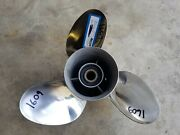 Counter Rotating 14 1/4 X 17p Stiletto Ss Prop Re-conditioned Yamaha 1609