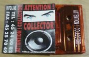 Cassette Tape K7 Promo Demo Gary Clail And On-u Sound System Attention Collector