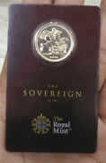 2018 India Gold Full Sovereign Coin Mint Card Royal Mint Pamp