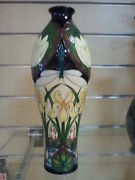 Moorcroft Pottery Brand New Tranquility Vase 42/12 Limited Edition 23/125