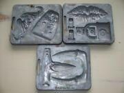 Vtg 1966 Mattel Thingmaker Fright Factory Molds Scary Lips Tongue Claws Fangs ++