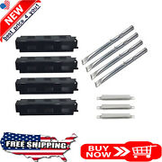 Gas Grill Porcelain Steel Heat Plates Stainless Steel Burners Crossover Tubes