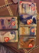 Ty Beanie Babies - 14 New With Tags And In Boxes All Sets