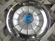 One 1962 62 Chevrolet Chevy Impala Ss Hubcap Wheel Cover Antique Vintage Classic