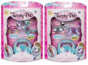 Twisty Petz 3 Pack2 Pixie Mouse And Radiant Roo + Razzle Elephant Pupsicle Puppy