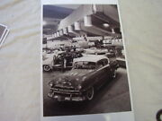 1954 Plymouth Auto Show Display 11 X 17 Photo Picture