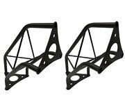 2 Two Black Metal Corners Mini 6 Bolted Triangle Trusses Dj Lighting Arch