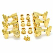 Wilkinson Guitar Tuners Gold 3x3 Imperial Style Guitar Tuning Pegs Wj309