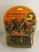 Radio Shack 2 Bay Charger Gmrs/frs For 2 Way Radios W/21-1902/1903/1904/1905