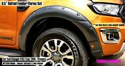 6.5 Bolted Fender Flares Wheel Arch For Ford Ranger Wildtrak 18-20 Px3 My2019