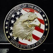 Authentic Medal / Coin U. S. Navy Ncis Naval Criminal Investigation Service