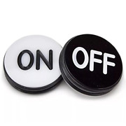 Gse Games And Sports Expert Double-sided Acrylic Casino Craps On/off Puck 3 Inch