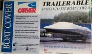 New Carver 15' Blunt Nose Bow Inflatable Boat Cover 7inf15bd Grey Free Ship Usa