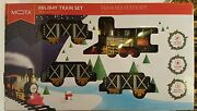 Mota Train Set For Christmas Electric Toy Trains Classic Holiday Real Smoke New