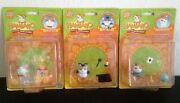 Hamtaro New Series Tricky, Birbo And Hamtaro Hamsters Figures And Accessories Sets