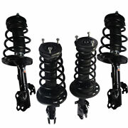 Full Set Of Complete Struts Assembly Gas Shocks For 2002-2003 Toyota Camry