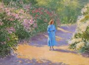 Greg Harris Original Oil Painting On Canvas In Perfect Condition