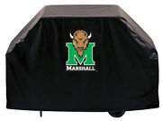 Ncaa - Marshall Grill Cover College Team Logo